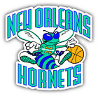 New Orleans Hornets NBA Basketball Combo Car Bumper Sticker - 9'', 12'' or 14'' on eBay