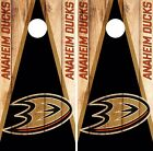 Anaheim Ducks Cornhole Skin Wrap NHL Hockey Wood Design Vinyl Decal Sticker DR85 $39.99 USD on eBay