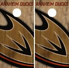 Anaheim Ducks Cornhole Skin Wrap NHL Hockey Vintage Design Vinyl Decal DR87 $39.99 USD on eBay