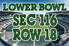 TWO (2) Lower SEC 116 Philadelphia Eagles Seat Licenses PSL Season Ticket Rights