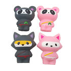 Squishy Slow Rising Jumbo Squeeze Ninja Fox Panda Stress Reliever Gift Cute Toys
