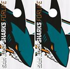 San Jose Sharks Cornhole Skin Wrap NHL Hockey Team Logo Vinyl Decal DR109 $39.99 USD on eBay