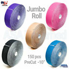 "ASATechmed TAPE PRO Synthetic Kinesiology Jumbo 150 PreCut 10"" Strips All Colors"