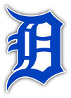 Detroit Tigers MLB Baseball Symbol Bumper Sticker Decal   - 9'', 12'' or 14'' on Ebay