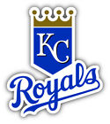 Kansas City Royals MLB Baseball Combo Logo Car Bumper Sticker- 9'', 12'' or 14'' on Ebay
