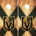 Vegas Golden Knights Cornhole Skin Wrap NHL Hockey Wood Design Vinyl DR116 $39.99 USD on eBay