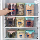 Plastic Pantry Organizer Bins Kitchen Plastic Jar Food Storage Tank Sealpot Box