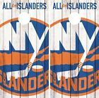 New York Islanders Cornhole Skin Wrap NHL Hockey Custom Art Decor Vinyl DR140 $59.99 USD on eBay