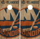 New York Islanders Cornhole Skin Wrap NHL Hockey Vintage Art Decor Vinyl DR141 $59.99 USD on eBay