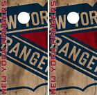 New York Rangers Cornhole Skin Wrap NHL Hockey Vintage Design Logo Vinyl DR146 $39.99 USD on eBay