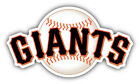 San Francisco Giants MLB Baseball Combo Car Bumper Sticker- 3'', 5'', 6'' or 8'' on Ebay