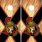 Ottawa Senators Cornhole Skin Wrap NHL Hockey Team Logo Wood Design Vinyl DR183 $39.99 USD on eBay