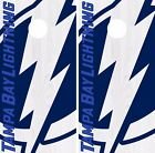 Tampa Bay Lightning Cornhole Skin Wrap NHL Hockey Custom Design Vinyl DR190 $39.99 USD on eBay