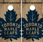 Toronto Maple Leafs Cornhole Skin Wrap NHL Hockey Vintage Game Board Vinyl DR194 $59.99 USD on eBay