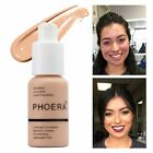 Naturally Flawless Cosmetic PHOERA Liquid Foundation Moistur