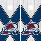 Colorado Avalanche Cornhole Skin Wrap NHL Hockey Vintage Art Decor Vinyl DR202 $39.99 USD on eBay