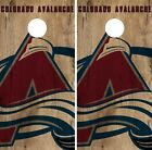Colorado Avalanche Cornhole Skin Wrap NHL Hockey Custom Art Decor Vinyl DR204 on eBay