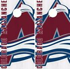 Colorado Avalanche Cornhole Skin Wrap NHL Hockey Vintage Art Decor Vinyl DR205 $39.99 USD on eBay