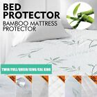 Luxury Mattress Protector Waterproof Fully Fitted Sheet Cover All Size Available image