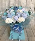Deluxe Baby Clothes Bouquet - New Baby / Baby Shower / Baby Boy / Baby Girl