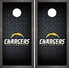 Los Angeles Chargers Cornhole Skin Wrap NFL Football Flag Luxury Decal DR41 $39.99 USD on eBay