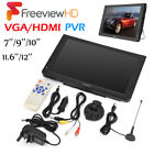 Portable LEADSTAR UPGRADED 1080P HD Digital TV w/ Freeview + Car Lighter Charger