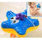 US Electronic Float Rotate Spray Water Starfish Baby Bath Toys Toddlers Children