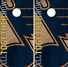 St. Louis Blues Cornhole Skin Wrap NHL Hockey Vintage Vinyl Decal Sticker DR227 $39.99 USD on eBay