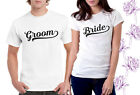 Groom bride mr & mrs T-Shirt Set Husband Wife Couple matching his hers dress