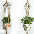 Внешний вид - Plant Hanger Hook Macrame Handmade Hemp Rope Macrame Flowerpot Holder Durable