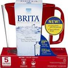 New Brita Small 5 Cup Metro Water Pitcher with Filter - BPA Free In Sealed Pack cheap