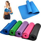Extra Thick 10mm Exercise Yoga Mat Large Pilates Gym Fitness Pad NBR Eco Blanket