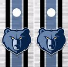Memphis Grizzlies Cornhole Skin Wrap NBA Basketball Team Colors Logo Vinyl DR294 on eBay
