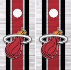Miami Heat Cornhole Skin Wrap NBA Basketball Team Colors Vinyl Sticker DR297 on eBay