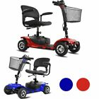 4 Wheel Power Scooter Electric Drive Scout Mobility Disability Elderly 2color OY