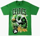 Marvel Comics NBA Boston Celtics The Hulk Basketball T-Shirt adult size on eBay