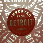 Sticker - Imported From Detroit Circle - Red Chrome