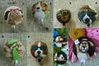 Dogs Badge Reel~Comical~Yoga Dogs~ Retractable~ID/Name Badge