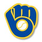 Milwaukee Brewers Decal / Sticker Die cut
