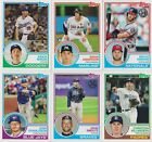 2018 Topps Series 1 35th Anniversary 1983 #83 - 1-100 Pick your Card