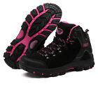 Mens Womens Outdoor Trekking Boots Athletic Hiking Climbing Waterproof Shoes New
