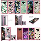 For Samsung Galaxy Note 9 SM-N960 | Note 9 N960 Pink TPU Bumper Case - Patterns