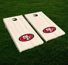 San Francisco 49ERS Cornhole Decal Vinyl NFL Football Car Wall Set of 2 GL27 $19.95 USD on eBay