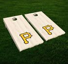 Pittsburgh Pirates Cornhole Decal Vinyl MLB Baseball Car Wall Set of 2 GL57 on Ebay