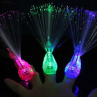 5B87 Finger Light Up Ring LED Party Favors Glow Decor Peacoc