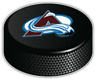 Colorado Avalanche Letter NHL Logo Hockey Puck Car Bumper Sticker-3'',5'' or 6'' $3.5 USD on eBay