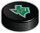 Dallas Stars Map NHL Logo Hockey Puck Car Bumper Sticker Decal -9'',12'' or 14'' $13.99 USD on eBay