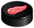 Detroit Red Wings NHL Logo Hockey Puck Car Bumper Sticker Decal -9'',12''or 14'' $13.99 USD on eBay