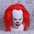 Horror Clown Cosplay Stephen King's It Mask Pennywise Joker Halloween Costume US