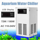 72w 180w Aquarium Water Chiller Fish Shrimp Tank Cooling LCD AC 110-240V/50-60Hz